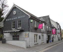 The White Lady Hotel, Kinsale.