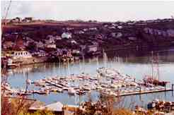 Kinsale Yacht Club (KYC) marina - one of 3 marinas in Kinsale