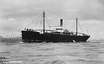 AUD arrival at Tralee Bay.