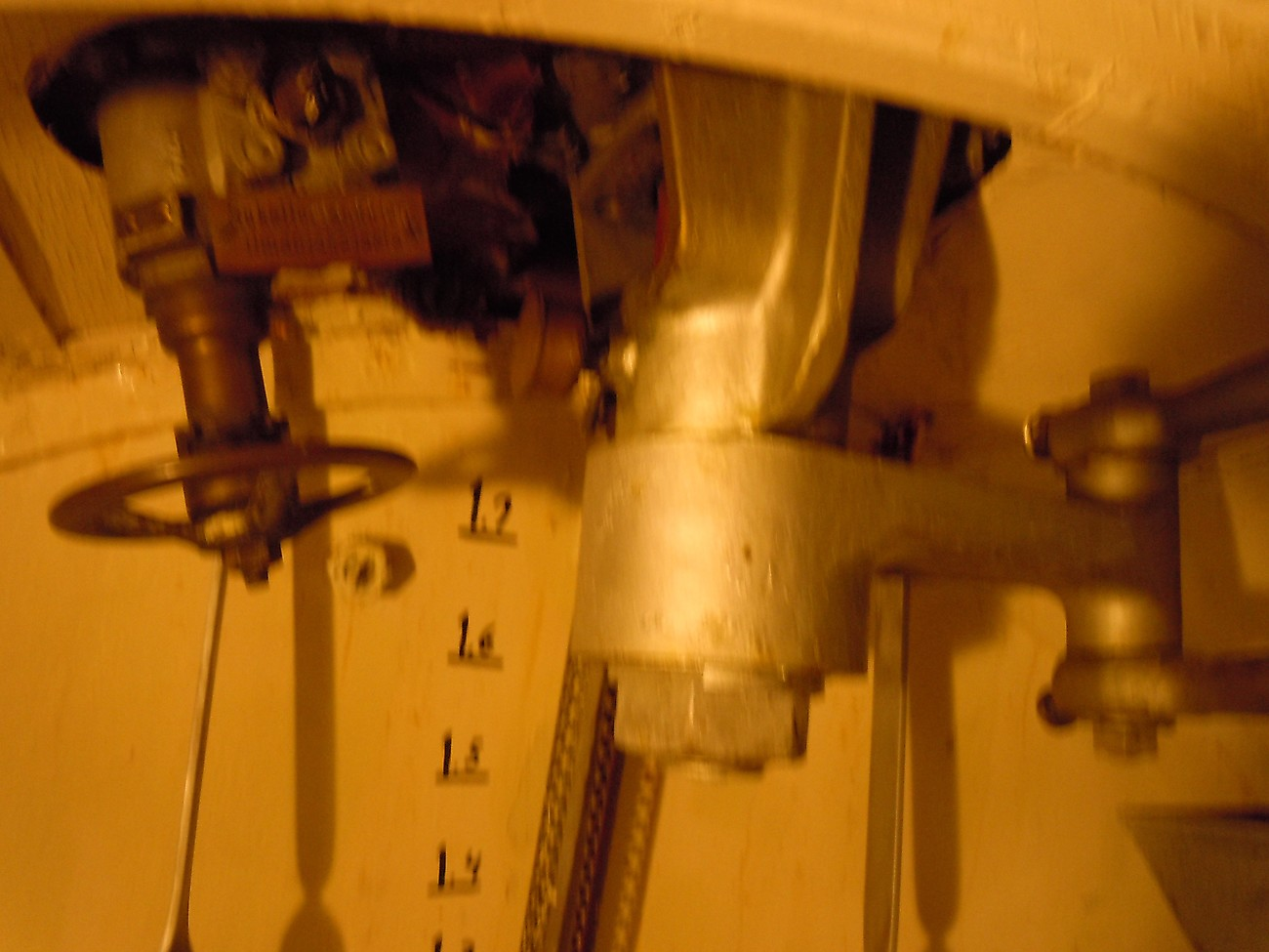 Linkage for rudder.