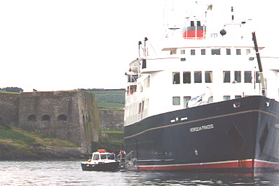 Hebridean Princess at Charles Fort, Kinsale
