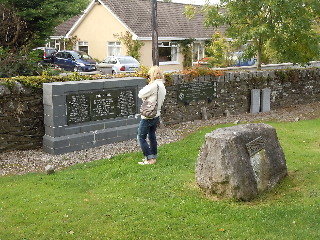 Lusitania graves in Cobh (Queenstown)