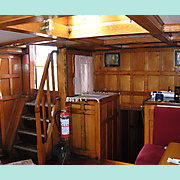Companionway from inside.