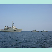 Irish Navy exercise, off Kinsale, June 2013