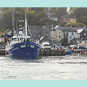 Rachel Jay (II) at Main Pier, Kinsale.