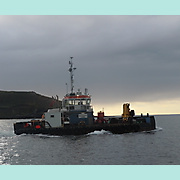 MCS Anneke outbound from Kinsale to PEGU wreck site.