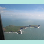 Aerial view of Old Head of Kinsale.