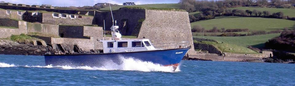 HARPY passing Charles Fort