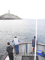 Fishing at Old Head of Kinsale.