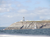Halpin's second lighthouse at the Old Head of Kinsale.