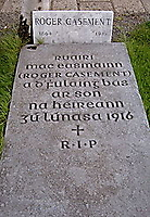 Casement's grave, Glasnevin Cemetary, Dublin.