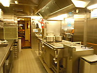 GRANUAILE's galley.