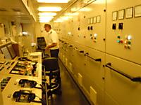 Engineering room .