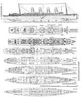 Lusitania deck plan.