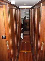Looking aft from main saloon.