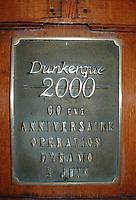 Dunkirk plaque.