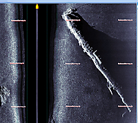 Sidescan sonar image of UC-42