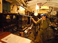 Port elec motor controls and guages.
